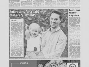 Goldilocks Suit Pty Ltd in The Advertiser with Shem Richards on Thursday May 7 2020