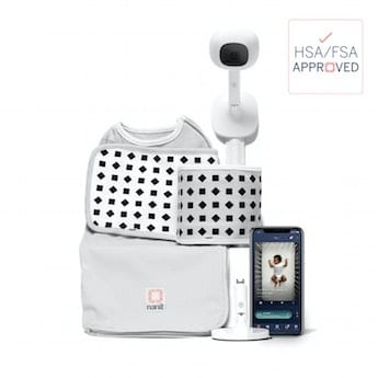 Smartphone App Baby Monitor Ideas - Nanit complete monitoring system